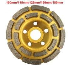 100/115/125/150/180mm Diamant Segment Schleifen Rad Tasse Disc Grinder Beton Granit Stein cut
