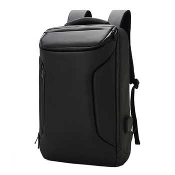 Backpack leisure business bag men functional USB charging outdoor travel bag waterproof large capacity backpack