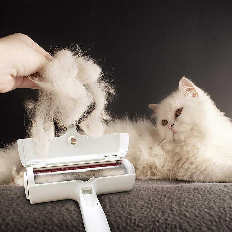 العملي مزيل الشعر للحيوان الأليف فرشاة الكلب القط الفراء الشعر لينت تنظيف مشط الحيوانات الأليفة بكرة شعر أريكة الملابس المنزلية مزيل الوبر