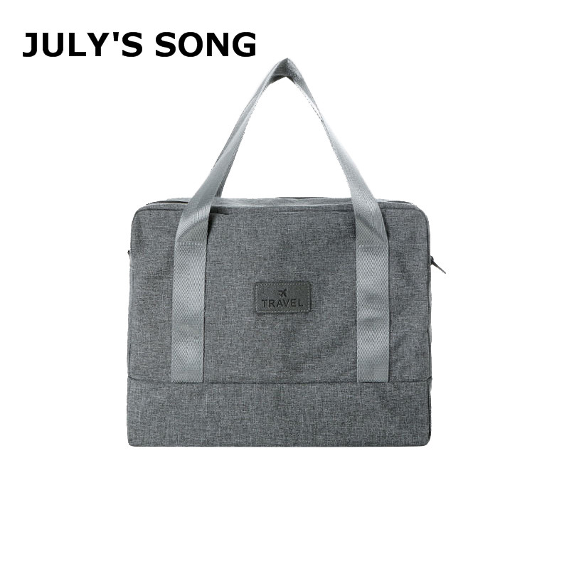 JULY'S SONG Cation Waterproof Travel Bag Large Capacity Luggage Bag With Shoe Pouch Multifunction Dry Wet Separation Storage Bag