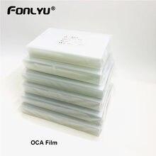 Film adhésif transparent pour écran LCD, 50 pièces, pour Samsung A8 A9 A10 A30 A40 A50 A60 A70 A90