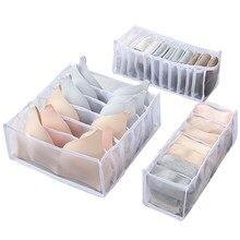 Boîte de rangement pour sous-vêtements, organisateur de tiroir, placard, diviseur, pour sous-vêtements, écharpes, chaussettes