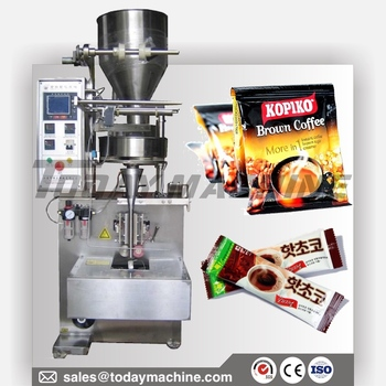 Automatic 3 Side Bag Sealing, Nescafe Coffee Powder Packing Machine, Sugar Packing Machine 1kg 1kg bag 100