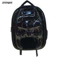 JZYZQBX 3D Stereoscopic Batman School Bag Marvel The Avengers Backpack Teenager Multi-layer mochila For Boy