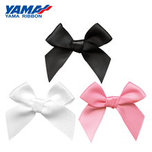 YAMA Wide 42mm±3mm High 39mm±3mm Hand-Tied Bow 200pcs/bag Grosgrain Satin Petersham Plaid Ribbon Diy Gift Decoration Ribbons