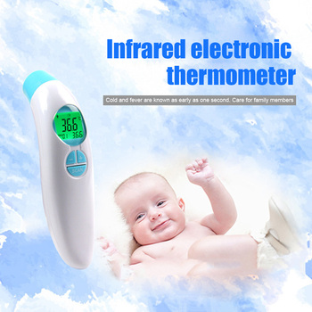 Non-contact Forehead Infrared Thermometer Digital LED Backlit Hand-held Temperature Meter RT99