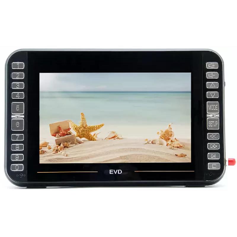 Car TV Eplutus LS-919Т With DVD Works Format Digital Broadcast DVB-T2 Built-in BATTERY, 10.2 Inch 1280х800