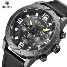 RUIMAS Men's Chronograph Watches Luxury Top Brand Waterproof