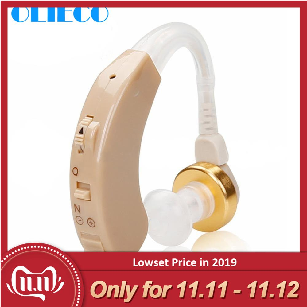 Volume Adjustable Small Mini Behind the Ear Best Sound Voice Amplifier Cheap Clear Hearing Aids for The Elderly Deaf Aid Device-in Ear Care from Beauty & Health