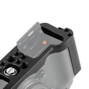 Image 4 - Cncアルミデジタル一眼レフケージ富士フイルムXT3 × T3とX T2カメラハンドルグリップケージアクセサリーvs tilta smallrig
