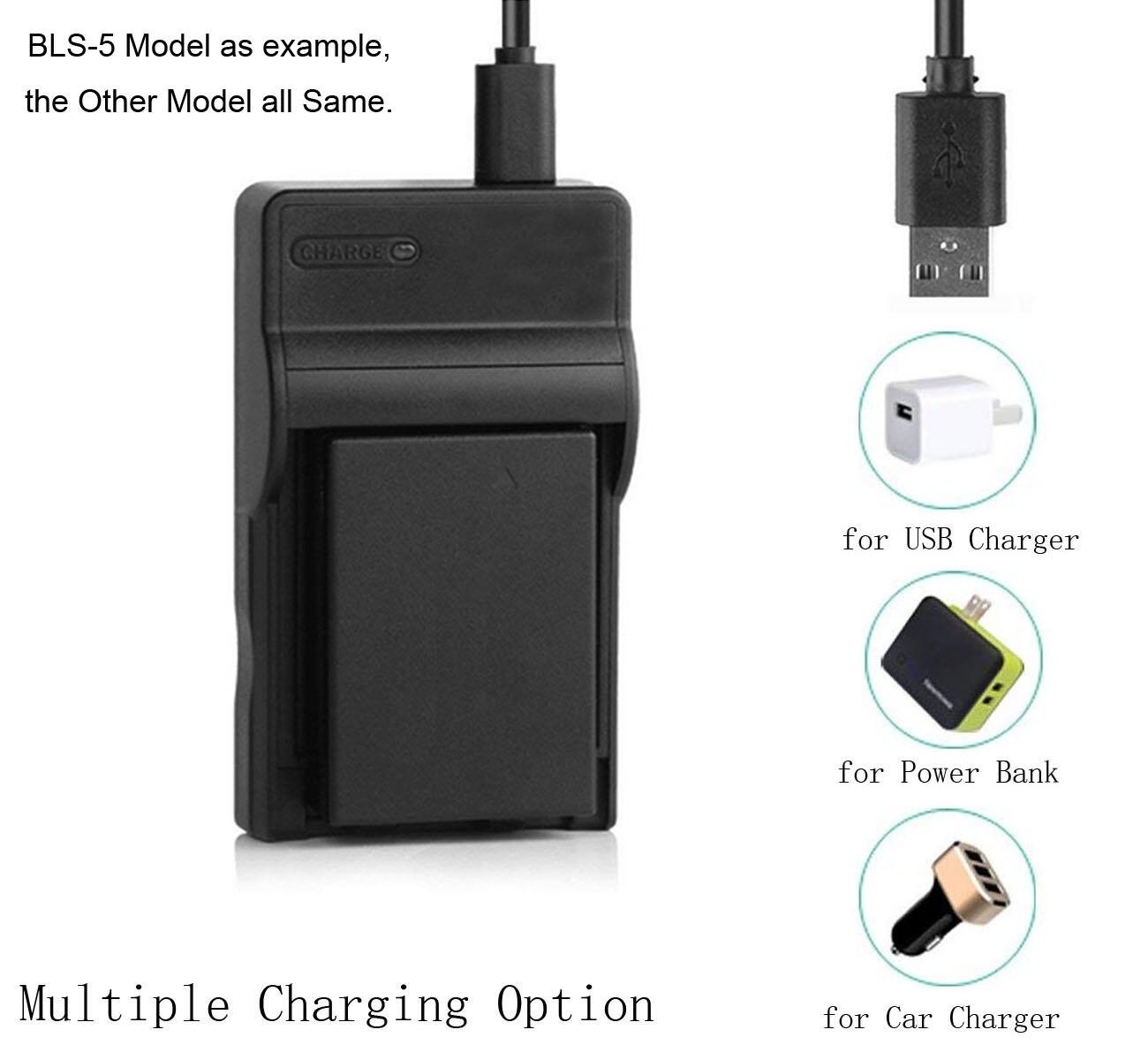 Li-40B 42B Battery Charger For Olympus TG-310 TG-320 VR-310 VR-320 VR-325 VR-330