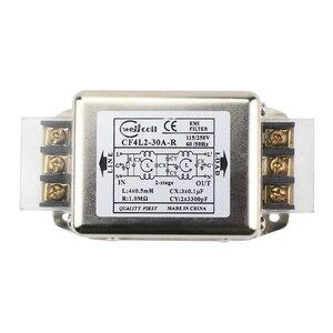 Image 2 - Ghxamp EMI מסנן אספקת חשמל לוח 10A 20A 30A משופר EMI מסוף בלוק מסנן עבור אודיו מגבר נגד התערבות 1PC