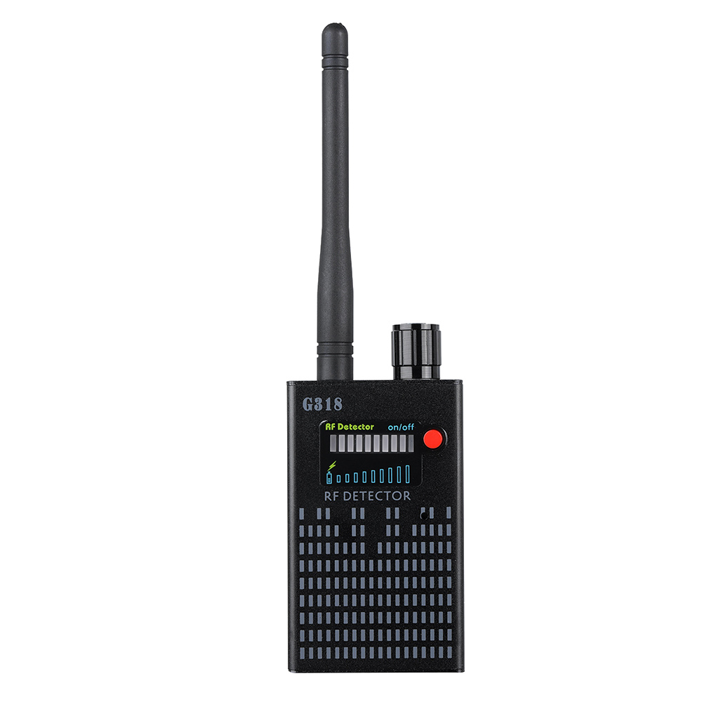 Multi-function Wireless Camera Lens Signal Detector Anti-eavesdrop Radio Wave Signal Detector