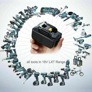 Image 5 - עם מטען BL1860 נטענת Batteries18V 6000mAh ליתיום יון עבור מקיטה 18v סוללה 6Ah BL1840 BL1850 BL1830 BL1860B LXT400