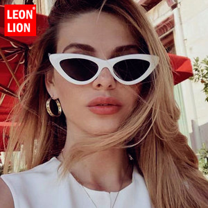 LeonLion 2020 Cat Eye Sunglasses Women Luxury Brand Glasses for Women/Men Vintage Eyeglasses Women Cateye Oculos De Sol Feminino