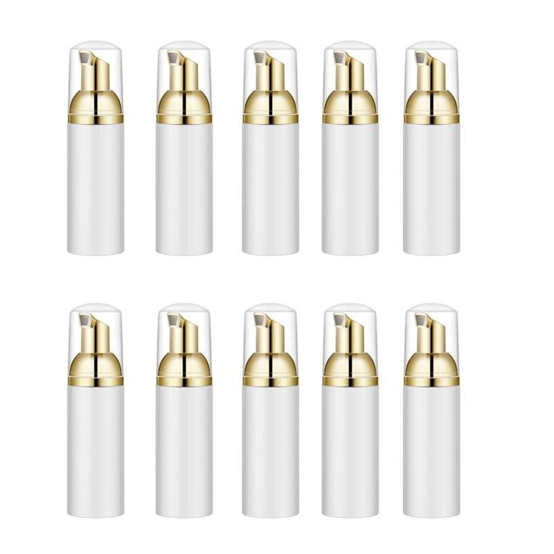 10PCS 30ML Plastic Foaming Bottle Soap Mousses Liquid Dispenser,Froth Shampoo Lotion Bottling Foam Bottles