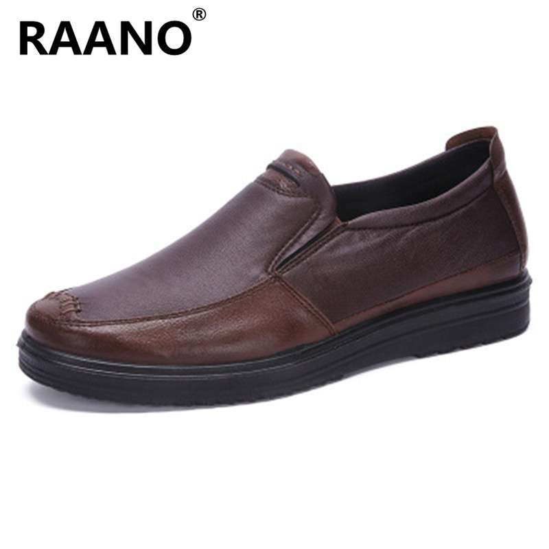 Size 38-48 Italian Style Men Shoes Casual Luxury Brand Mens Loafers Genuine Leather Moccasins Breathable Slip on Driving Shoes