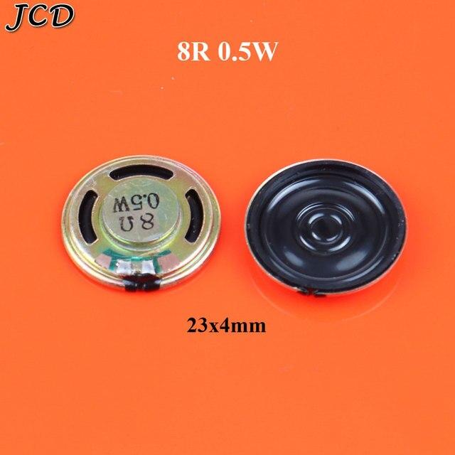 Фото jcd 8r 05 вт 8 ом круглый динамик громкий зуммер кольцо диаметр