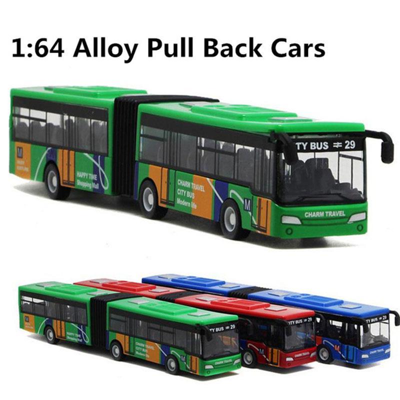 1 Set Multicolor Indoor Collection Alloy Bus Toy Bus Model Interesting Desk Alloy Car Toy Pocket Decoration Cultivate Interest