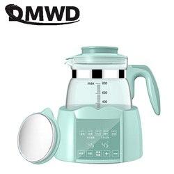 DMWD butelki na mleko podgrzewacz sterylizator karmienie dziecka podgrzewacz do butelek termiczny czajnik elektryczny termostat szklany kocioł grzewczy czajniczek ue w Czajniki elektryczne od AGD na