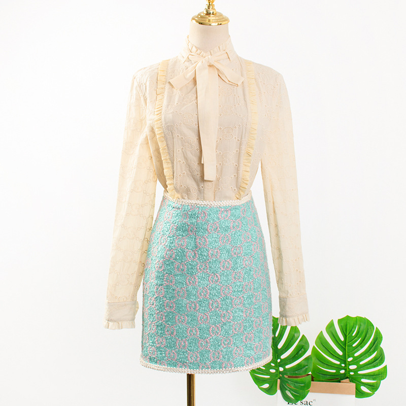 women's blouse 2020 fashion korean drama TV long sleeve women's shirt clothes for women elegant Lady bow shirts blusa feminina