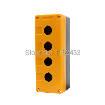 BX4-22 4 Hole Push Button Switch Box For 22mm Mounting Hole Push Button