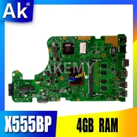 X555BP Asus X555B X555BP X555QG laptop anakart A9-9420P CPU 4GB RAM R5 grafik