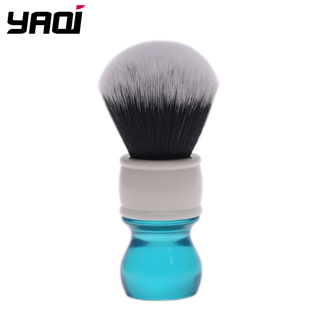 Yaqi 24mm Aqua Tuxedo Synthetic Hair Shaving Brush