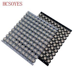 Image 3 - 10 ~ 100 pcs WS2812B LED 개별적으로 주소 지정 가능 WS2811 IC rgb 흰색/검정색 2812b led 방열판 (10mm * 3mm) 5050 SMD RGB 내장