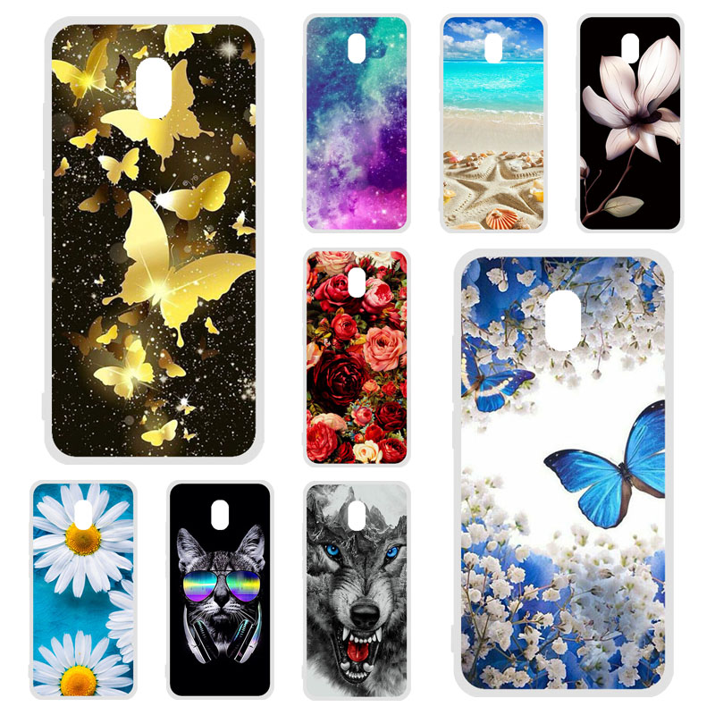 Phone <font><b>Case</b></font> For <font><b>Xiaomi</b></font> <font><b>Redmi</b></font> 8A <font><b>Case</b></font> Silicon Floral Painted Soft TPU Bumper For <font><b>Xiomi</b></font> <font><b>Redmi</b></font> 7A <font><b>6A</b></font> 8 7 Go K20 <font><b>6</b></font> Mi 9T Pro <font><b>Covers</b></font> image