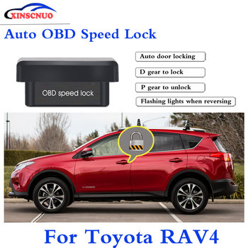 XINSCNUO New Smart Auto OBD Speed Lock For Toyota RAV4 2009~2015 Profession Produce Car Door Lock auto electronics image