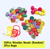 26Pcs String Beads