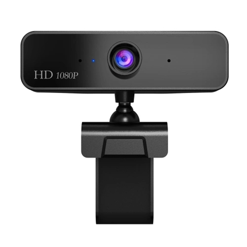 Hot 3C-S2 HD 1080P Webcam Built-In Microphone High-End Video Call Web Camera For PC Laptop (Black)