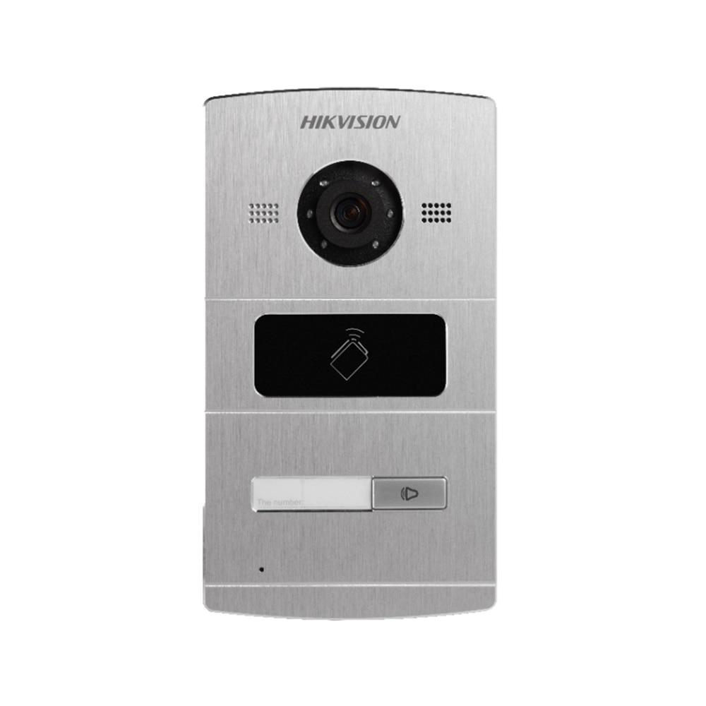 DS-KV8102-IM DS-KV8202-IM DS-KV8402-IM Hik mains libres interphone vidéo 1, 2 ou 4 Boutons En Métal de Porte de Villa Station 2