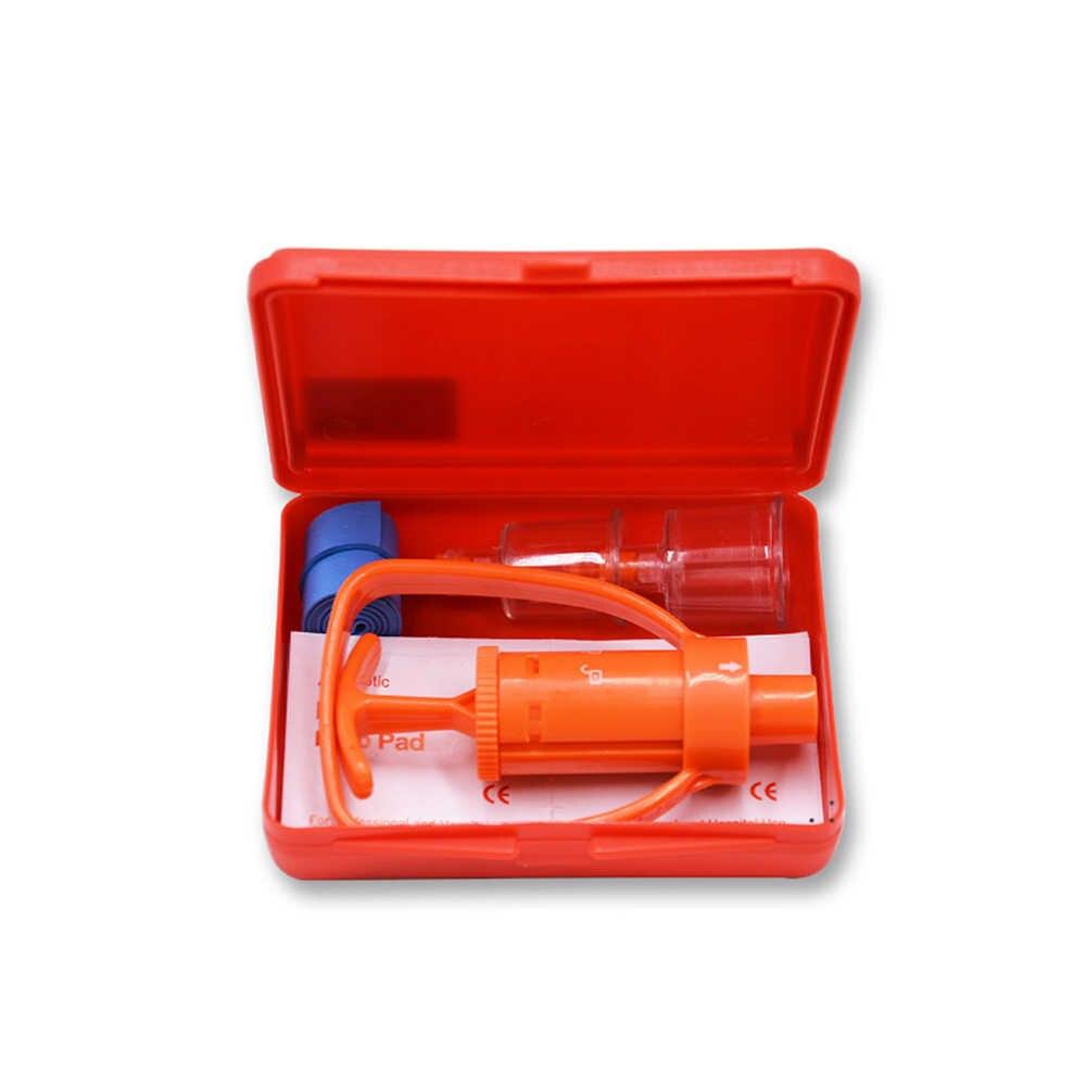 Выделитель ядов насос для удаления яда наборы Вакуумный аспиратор аптечка аварийный укус змеи инструменты для выживания