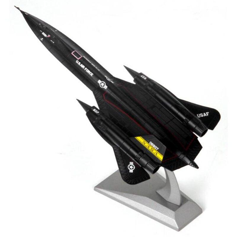 Avião avião modelo 1:144 SR-71A lockheed blackbird