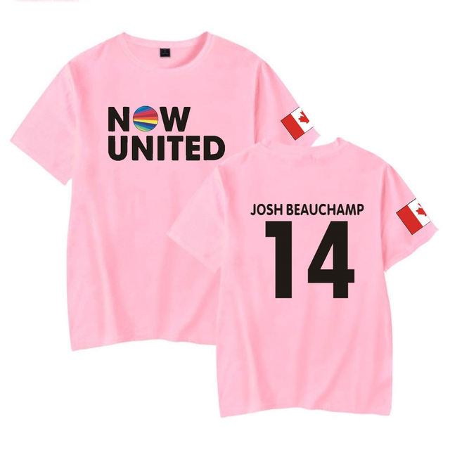 NOW UNITED THEMED T-SHIRT (5 VARIAN)