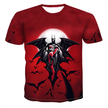 Fashion Superman Batman 3D Quality T Shirt Summer Style Men Women Short Sleeve Casual T-shirt Top Tee streetwear Tshirt oversize