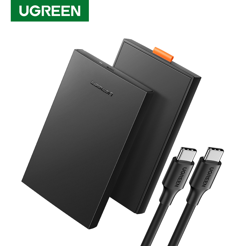 Ugreen 2 5 HDD Case SATA to USB 3 0 Adapter External Hard Drive Enclosure for SSD Disk HDD Box Case HD 2 5 SSD Case SATA to USB