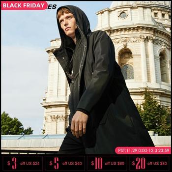 Jack Jones hiver imperméable tissu à capuche doublure amovible manteau veste Parka | 218309525