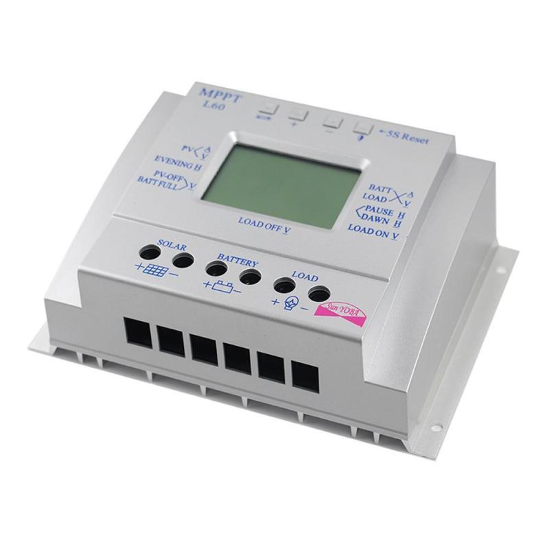mppt 60a controlador de carga solar 18 04