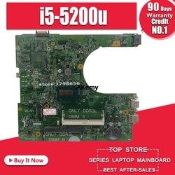 Dla DELL INSPIRON 15 3558 płyta główna do laptopa z i5 5200U CN 0MHDT2 0MHDT2 MHDT2 PWB: 1XVKN MB 100% testowane szybka wysyłka w Płyty główne od Komputer i biuro na
