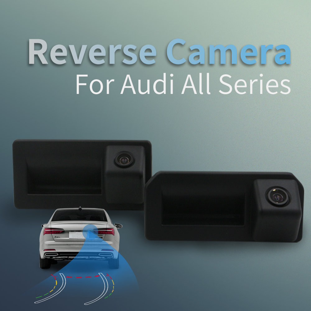 Carlinkit Intelligent HD Car Reverse Camera For Audi Car A3 A4 A5 S4 S5 Q5 A6 A7 Q7 A8  2010 - 2019