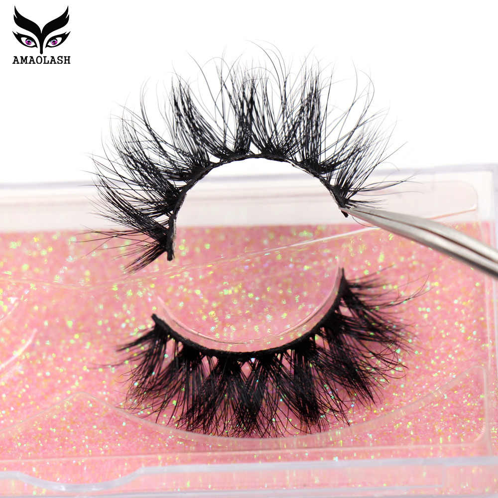 Amaolash Make 3D Valse Wimpers Fake Lashes Makeup Kit Mink Wimpers Extension Mink Wimpers Handgemaakte Herbruikbare Wimpers