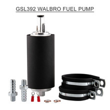 gss342 255lph high flow universal in tank gasoline auto car fuel pump for nissan toyota honda buick racing and tuning cars GSL392 High Pressure Fuel Pump Suction Easy Install Parts Gasoline Durable External Inline Automobile Car Accessories 255LPH