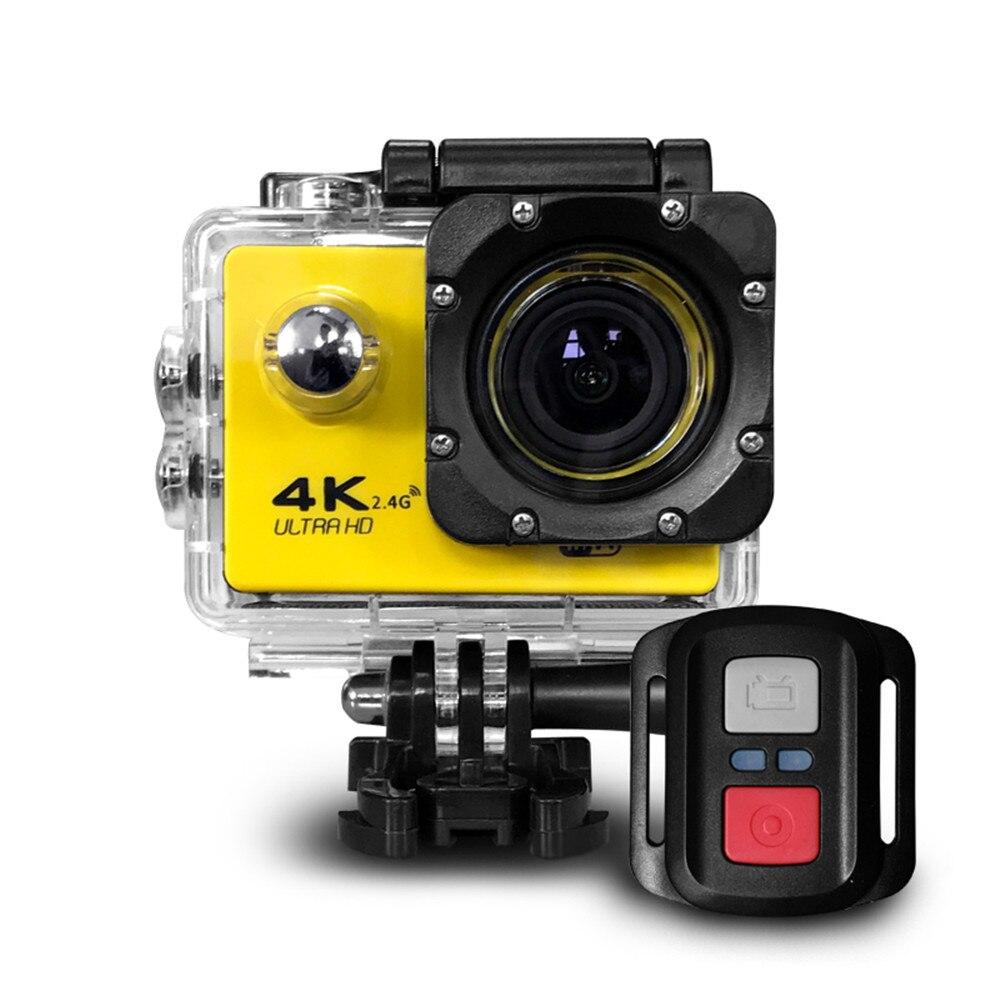 Câmera de ação ultra hd 4 k com wifi, filmadora de 16mp e 170 go, deportiva, 2 polegadas e à prova d' água para esportes câmera pro 1080p 60fps Câmeras de ação    -