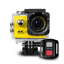 Ultra HD 4 K Action Camera Wifi Camcorder 16MP 170 Go Cam 4 K Deportiva 2 Inch F60 Tahan Air Olahraga kamera Pro 1080P 60fps Cam(China)