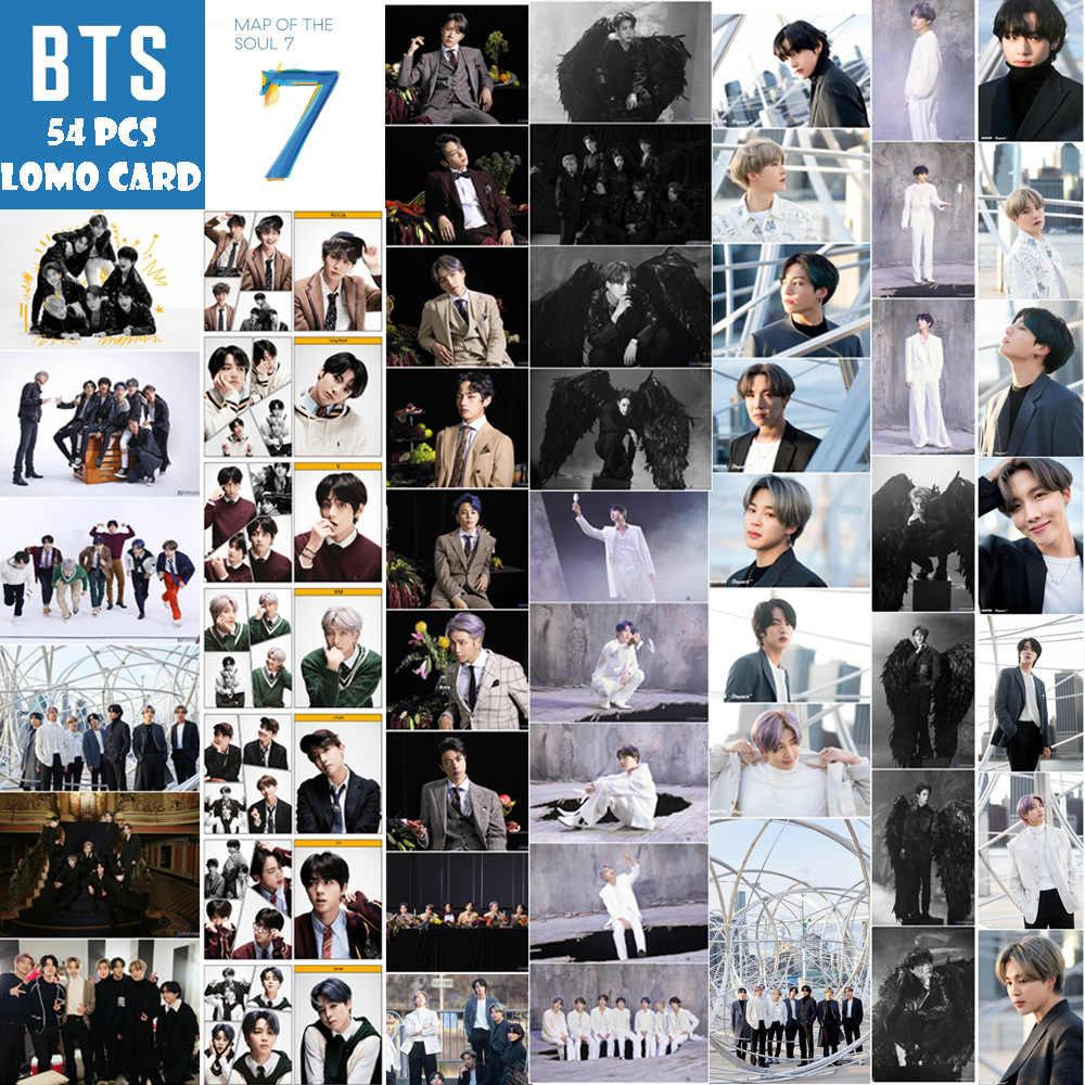 Zuid-koreaanse Groepen K-POP Bangtan Jongens Lomo Kaart Poster Nieuwe Album Kaart Van De Ziel 7 Collectie Kaart Photocard Jung kook Jimin