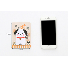 30pcs/lot Cute Creative Akita dog puppy Self-Adhesive Sticky N Times  Memo Pad Stationery School Supplies Planner Stickers цена 2017