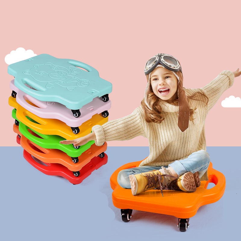 Sensory Training Equipment Big Scooter Games For Children Home Sense Outdoor Toys Fitness Balance Board Outside Training Toys